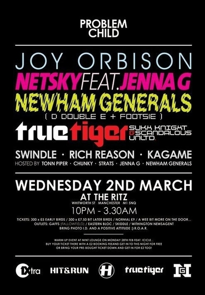 Then this?! Hit &Run Problem Child @ the Ritz...  #Hospitalrecords  @j3nnag  @mcrChunky  @TwitchTweason ☺ ♬♫♪