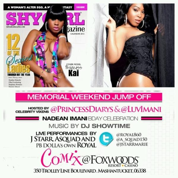 MAY 25TH I'm ending my birthday month with @PrincessDiarys at COMIX Foxwoods Casino & Resorts. Don't miss it! #CT