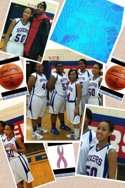 It's my cousin @ALegit_HOOPER senior year & she did So good I'm proud of her!!