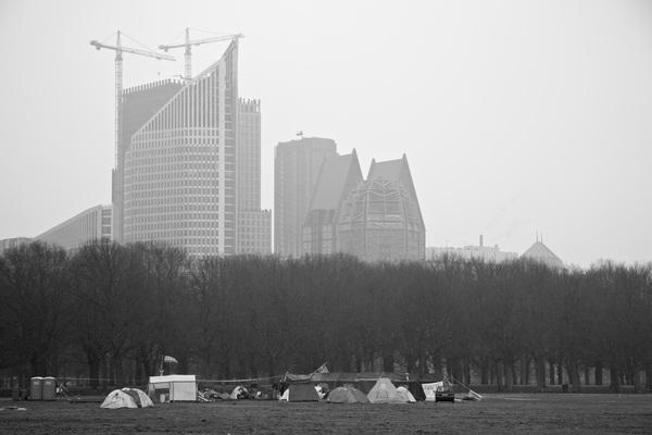 #occupy #denhaag #vrieskou