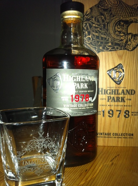 On my birthday, I drink a @HighlandPark from my birthyear