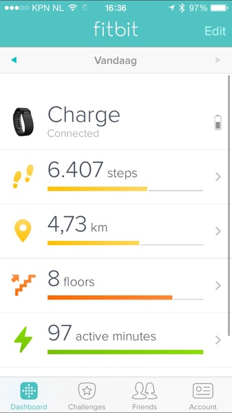 So happy with my new @Fitbit! But it keeps telling me to charge