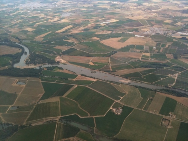 Just flew into Extremadura Spain to visit with wine &amp; olive oil producers.