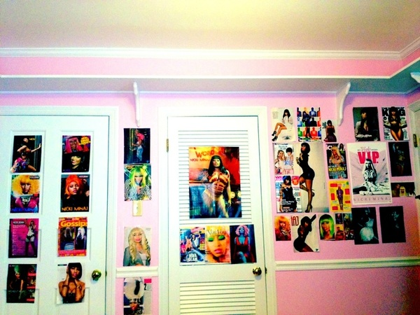 Just a little insight to my @NICKIMINAJ obsession... ♡ #TeamMinaj