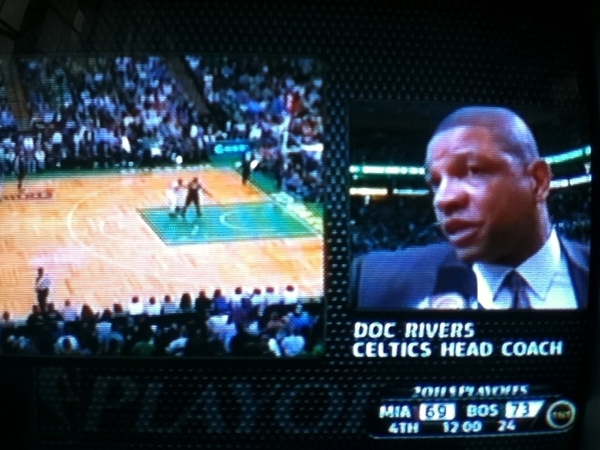 Watching #HEATPlayoffs: Game 4 @MiamiHEAT vs @celtics 