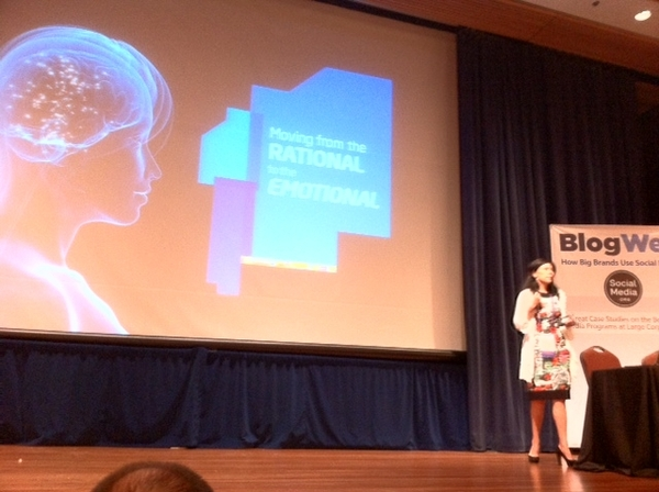 From Rational to Emotional @Intel @BeckyAnnBrown #BlogWell
