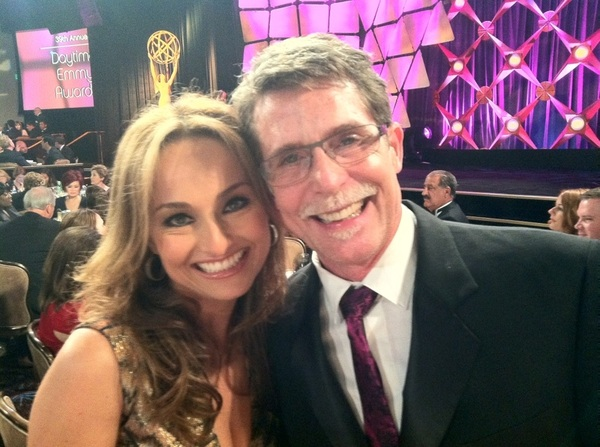 I had a blast at the Emmys. Our table was amazing, everyone so nice. Pic with my fellow nominee Giada de Laurentis