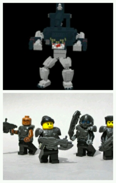 """If they ride em, so can WE!"" - Marcus P. (@raczilla @iFlak @GearsViking @therealcliffyb) #Gears3 #LEGO #TOYS #Awesome"