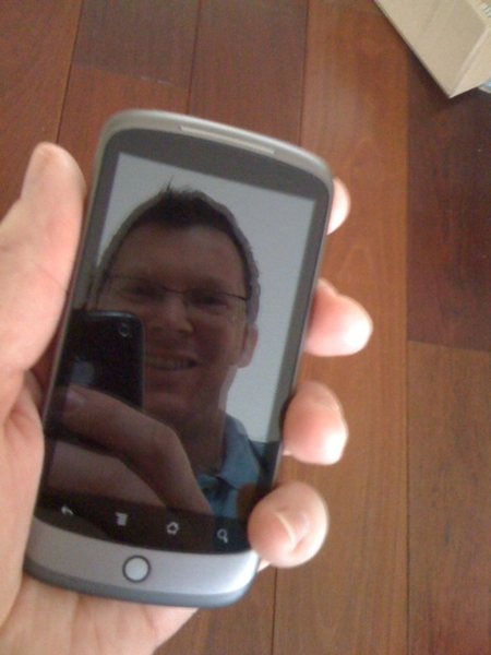 Google phone arrived... It&#039;s a NexusOne! Happy happy joy joy!!!