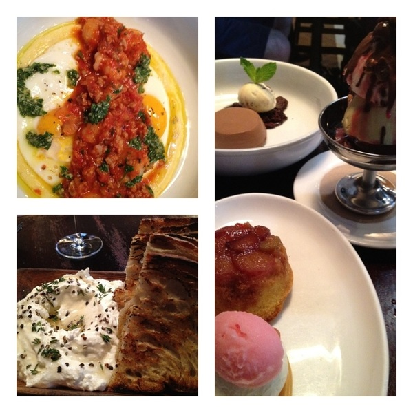We had a TRULY AMAZING brunch @ Locanda Verde: ricotta/pepper/honey, shrmp&grits,Karen DeMarco's award-winning desserts