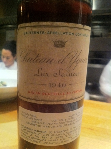 Surprise brought for a guest at Topolo tonight.Just open, gorgeous nose,maybe I'll get a taste!  Boy, I luv my job