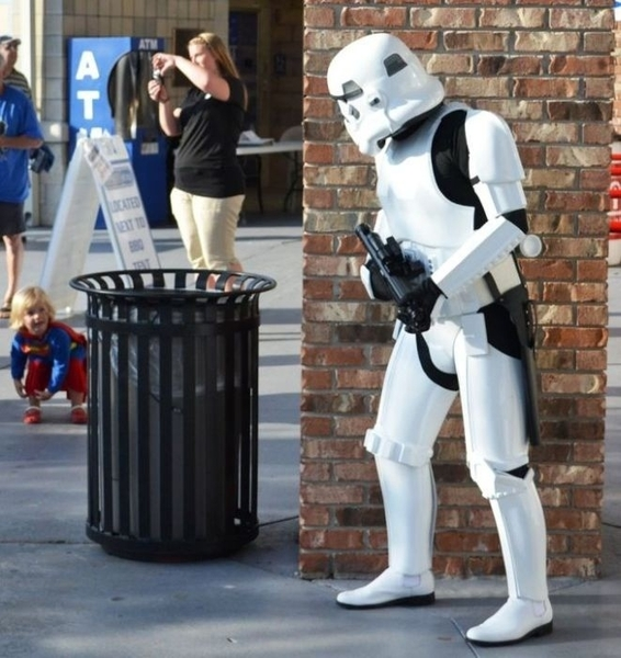 The Storm Trooper vs SuperBaby
