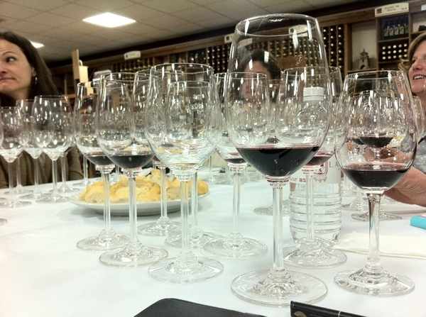 Tastings of a dozen LA Cetto wines with Camilo Magoni. Vertical of Nebbiolo from 1986 to 2004
