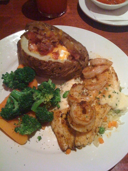 Cheddars? (tilapia n shrimp) 