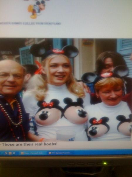Disneyland Resort -- Exhibitionism Disney Lies