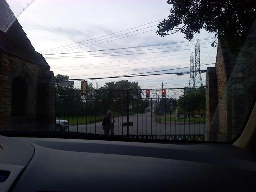 The asshole who locked us in the cemetery!! #Rude