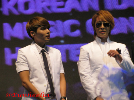 HaeWook in KIMCHI event ~~ ^^ I think Wookie looks good in his OutFit ...