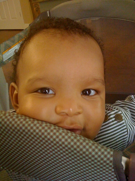 Ohhh he tooo handsome!!! RT @mr_iwillnot ovr here tlkn 2 baby nephew, Josh on his 1st b&#039;day. -----&gt;