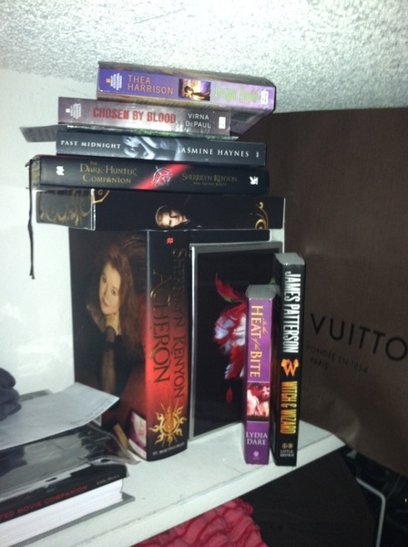 Ok. As promised, the top of my closet.  It&#039;s all I have. :( the twilight books are not signed. Hehehe @AnnCraven @r3n87