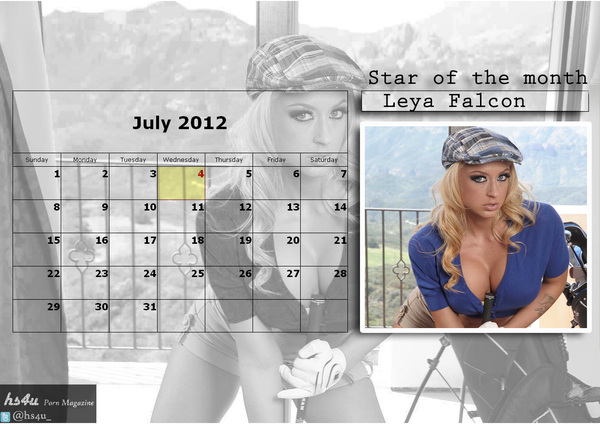 #LeyaFalcon-> July 2012 hot calender - 2 #sexy #beautiful #respect #gorgeous #MILF
