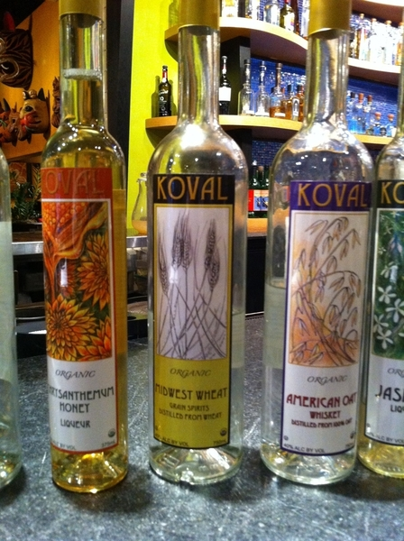 We had an AMAZING all-staff class w Meg from r local Koval spirits.Love the Rye white whiskey,fresh Ginger liqueur