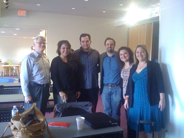 Hanging out with a few of my fellow #stwbcmb speakers  @stefanmve, @jackieadame @firecatsue @doingmedia & Pablo