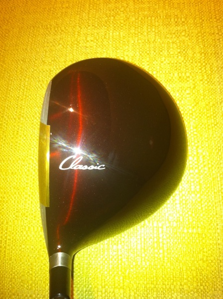 Nice surprise waiting in room here in Singapore. Hot off the production line. Prototype @ClevelandGolf Classic driver