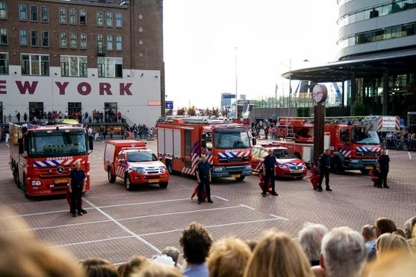 Dansvoorstelling Brand! (1) #Rotterdam #wereldhavendagen