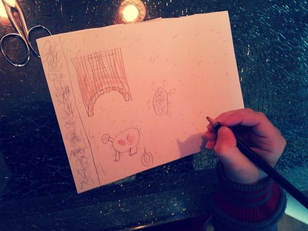 tekening van @jongstezoon voor #caafje