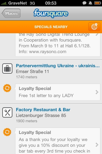 DAS - Nenne ich mal ein 4Sq - Special !!!! 1st letter free =)