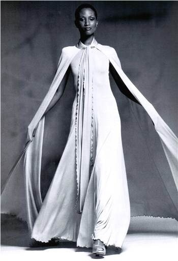 Photo: 70s Supermodel Beverly Johnson wearing Stephen Burrows dress #Beautiful! 