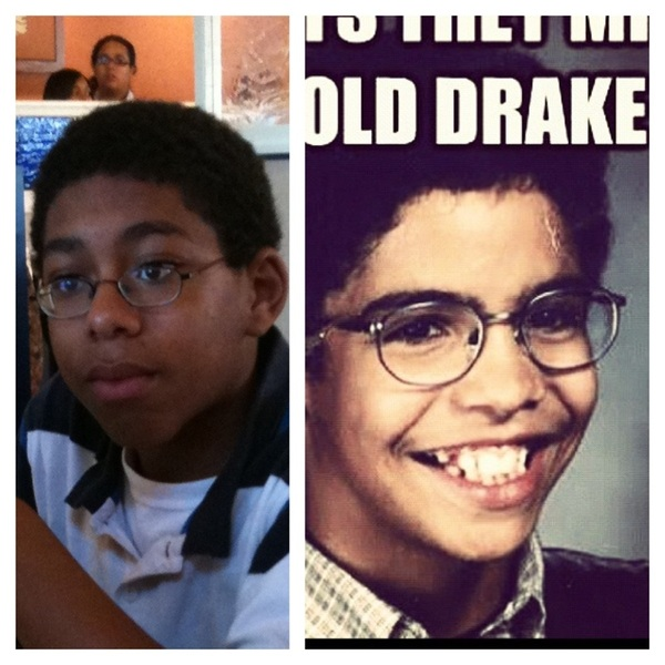 I swear my brother look like drake in this pic 