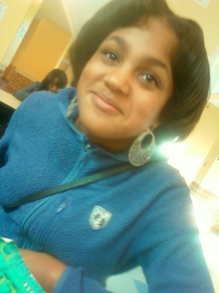 Ayana in lunch lol :D #BabyFace