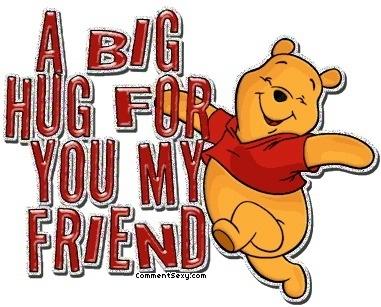 hug back at you