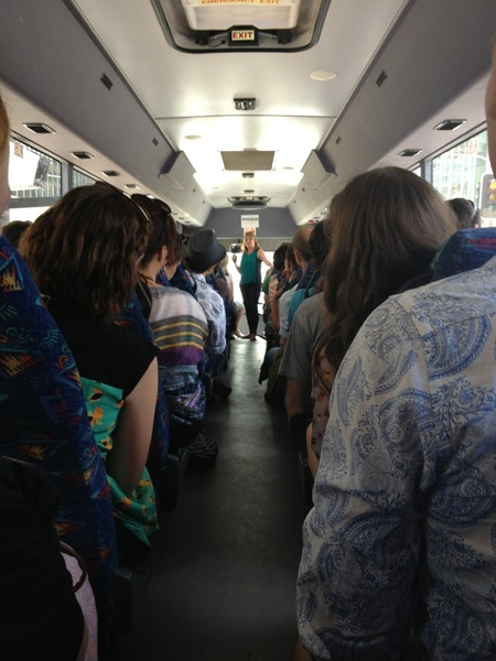 Off for BBQ with Social Innovation Exchange Summer School crew #sixoz12 