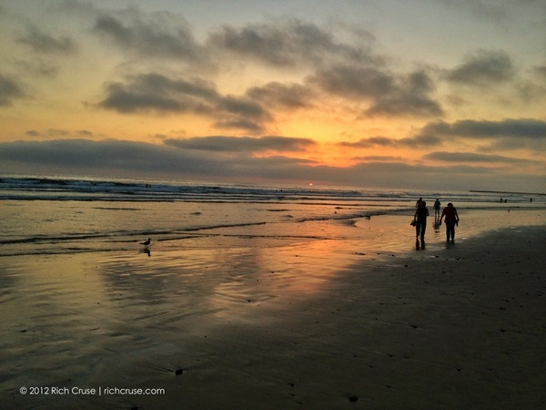 Sunset August 6, 2012 @VisitOceanside #iphone4s photo