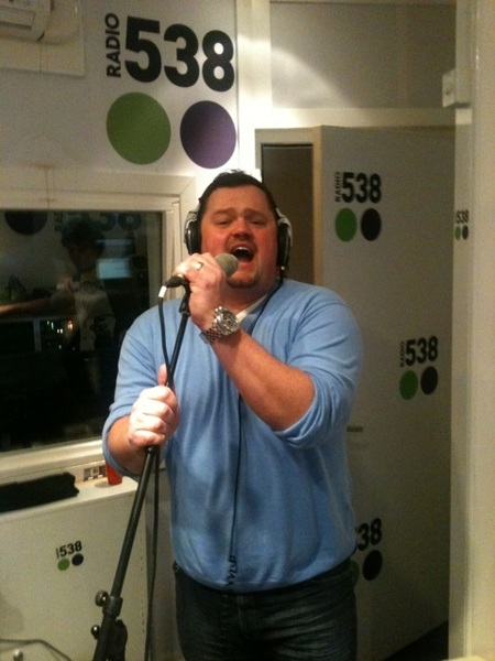 Gezelligheid!! @fduijts in de studio!! #radio538