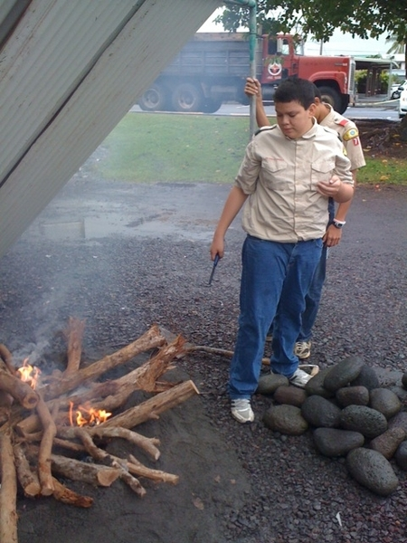 100th Year Anniversary of Boy Scouts - Outdoor Cooking #Makahiki #AlohaCouncil #BSA #Hilo #Hawaii