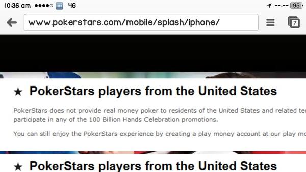 pokerstars fr app