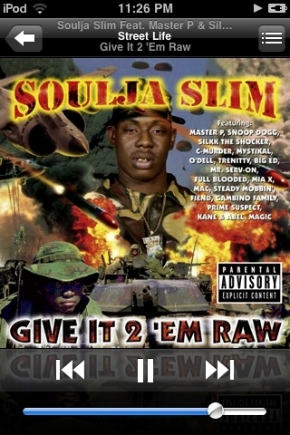 #NowPlaying • Street Life • Soulja Slim ft. Master P & Silkk The Shocker • Give It To Em' RAW - Real Shtt