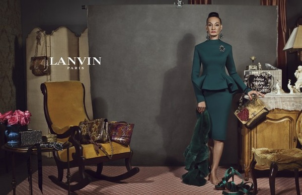 82 year, old former Apollo dancer, Jacqueline Murdock stars in Lanvin's Fall Winter 2012 Campaign!