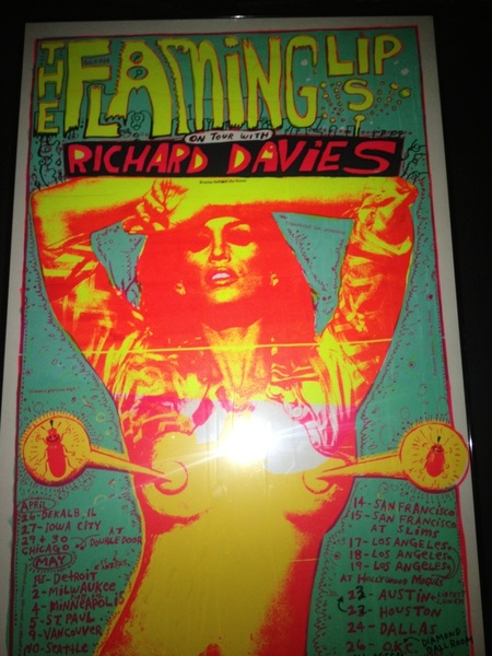 Wow!!! I've not seen these in quite a while!!!!! vintage flaming lips's posters!!i printed them!!
