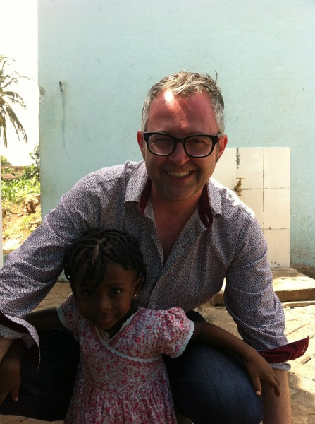I made a friend in Ghana #MESTGhana