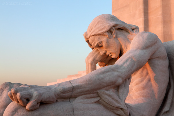 Detail from Vimy Ridge National Historic Site of #Canada in #France
