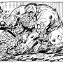 #THING vs #HULK by #BYRNE...