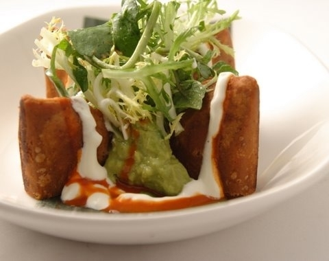 Enchiladas potosinas from the new Frontera menu