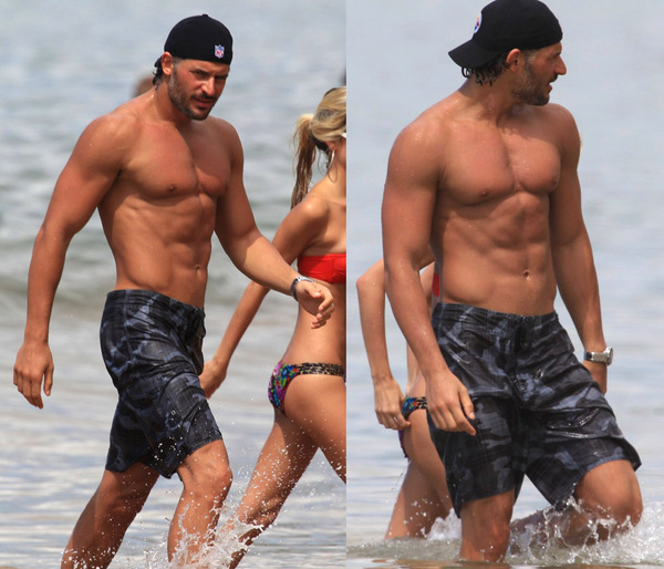 #TrueBlood Joe Manganiello at the beach in Hawaii. You are so welcome.