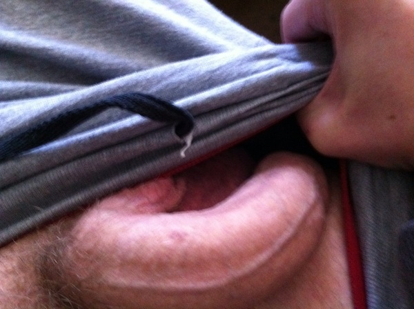 Somethin's a stirrin..... #teamvers #teamhorny #teamhung  ..