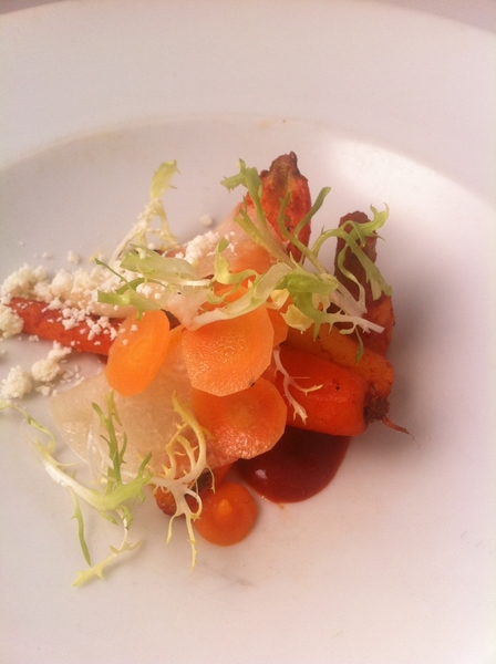 We&#039;re also completely revamping our vegetarian tasting menu w likes of red chile-rstd veg &quot;a la plaza&quot;+pckld veg