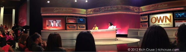 Pano audience view @Oprah's #Lifeclass @OWNTV @iyanlavanzant #iphone4s